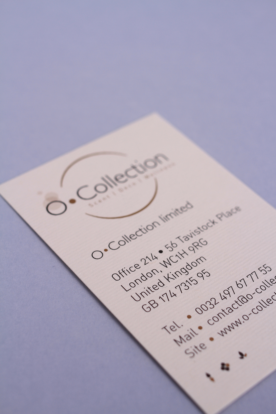 O-Collection • Corporate 2014
