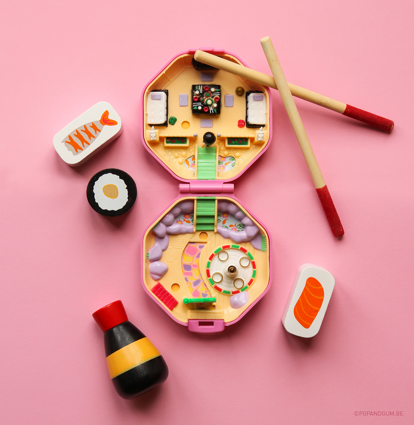 Polly Pocket Sushis